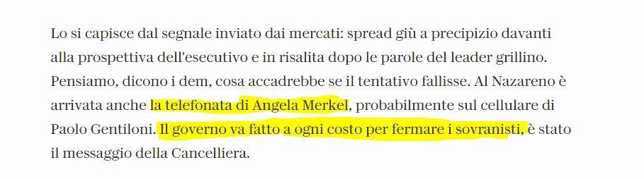 Regierungssprecherin dementiert: Keine Einmischung Merkels in italienische Koalitionsverhandlungen