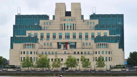 Die Zentrale des britischen Auslandsgeheimdienstes MI6 in London.