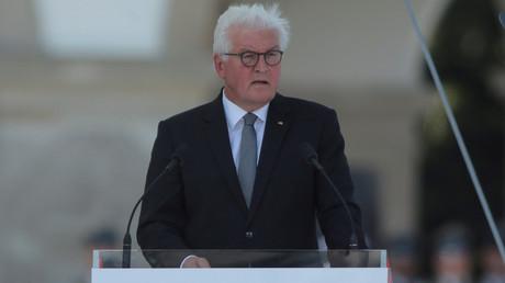 Steinmeier bei seiner Rede am Sonntag in Warschau