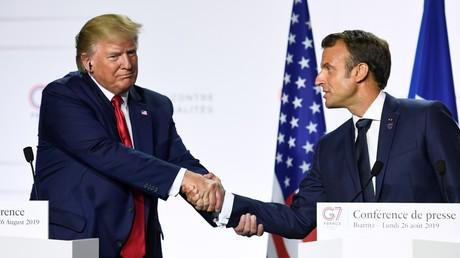 Muss sich noch grünes Licht aus Washington holen: Um die Pläne einer Kreditlinie für den Iran umzusetzen, braucht Emmanuel Macron die Zustimmung aus Washington. (Bild vom 26. August)