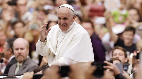 Der Papst während seines US-Besuchs in Philadelphia (27. September 2015)