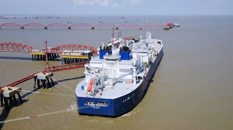 Der russische LNG-Tanker