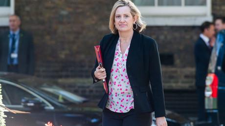 Die britische Arbeitsministerin Amber Rudd, hier am 23. Juli 2019 in London,   hat ihr Amt niedergelegt.