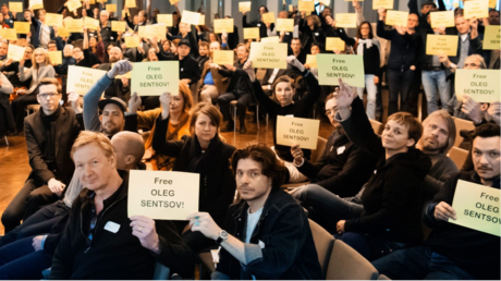 Auf der Mitgliederversammlung der Deutschen Filmakademie im Februar 2017