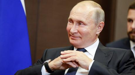 Von westlichen Medien oftmals dämonisiert: Russlands Präsident Wladimir Putin ( Sotschi, 12. September 2019)