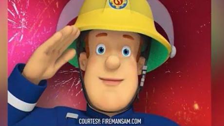 Feuerwehrmann Sam ist im Hafenstädtchen Pontypandy mit seinem Team stets im Einsatz.