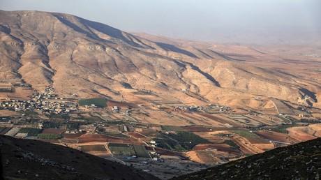 Israels Regierung billigt kurz vor der Parlamentswahl eine Siedlung im Jordantal. Auf dem Bild: Generalausblick auf den zentralen Teil des Jordantals. 12. September 2019