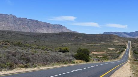 Eine Straße in Südafrika