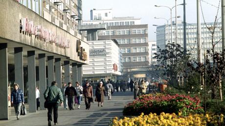 Andere Zeiten: Am Alexanderplatz im Oktober 1989