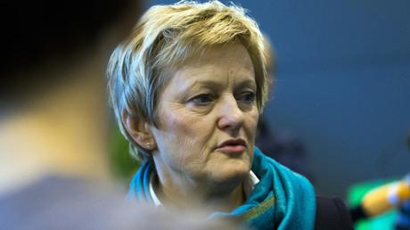 (Archivbild). Renate Künast während einer Fraktionssitzung ihrer Partei am 24. September 2013.