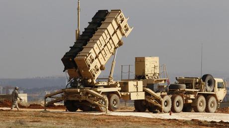 Symbolbild zeigt ein in der Türkei stationiertes Patriot-Luftabwehrsystem des US-Militärs.