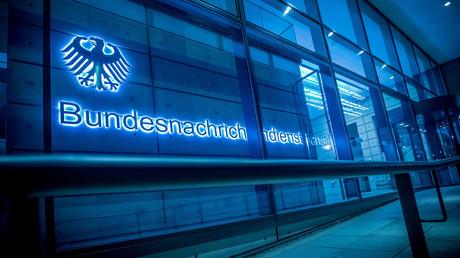 Der Eingangsbereich der BND-Zentrale in Berlin