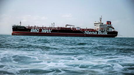 Der Tanker der schwedischen Reederei Stena