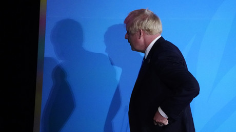 Boris Johnson am 23. September 2019 während des Klimagipfels der Vereinten Nationen New York City, USA.