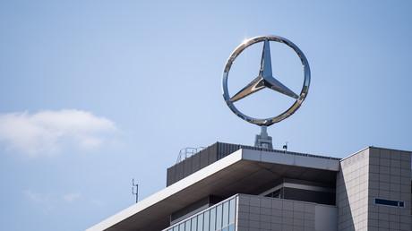 Mercedes-Stern am Werk Untertürkheim
