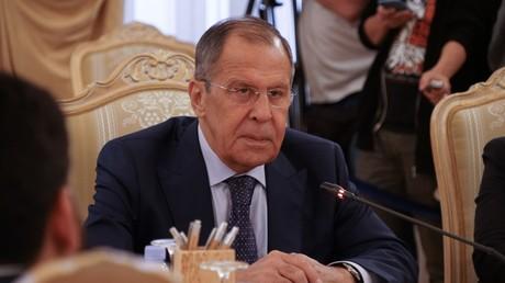 Russlands Außenminister Lawrow geht mit dem Westen ins Gericht.