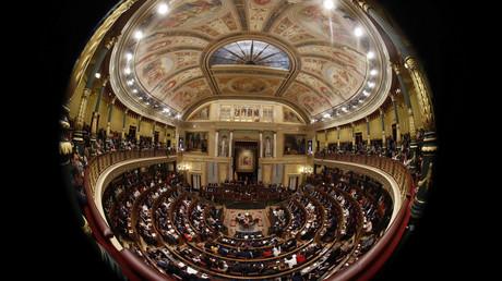 Spaniens Parlament in Madrid wurde am Dienstag aufgelöst - nun stehen Neuwahlen an.