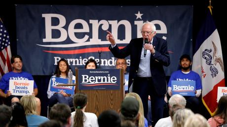 Bernie Sanders im Vorwahlkampf (West Liberty, Iowa, 24. September 2019)
