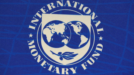 Offizielles Logo des Internationale Währungsfonds (International Monetary Fund - IMF)