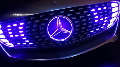 (Archivbild). Die Front eines Mercedes-Benz F 015 Luxury in Motion Concept Cars am Stand von Mercedes-Benz während der Internationalen Automobilausstellung (IAA) in Frankfurt am Main, Deutschland, am 14. September 2015.
