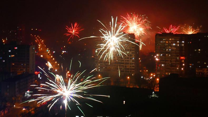 LIVE: Abschlussfeier mit Feuerwerk in Peking zum 70. Jahrestag