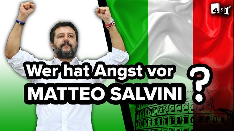 Matteo Salvini – Der Mann den die EU fürchtet | Italiens Regierungskrise | 451 Grad