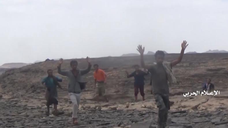David gegen Goliath: Huthis nehmen Hunderte Saudi-Söldner gefangen und vernichten Panzerfahrzeuge