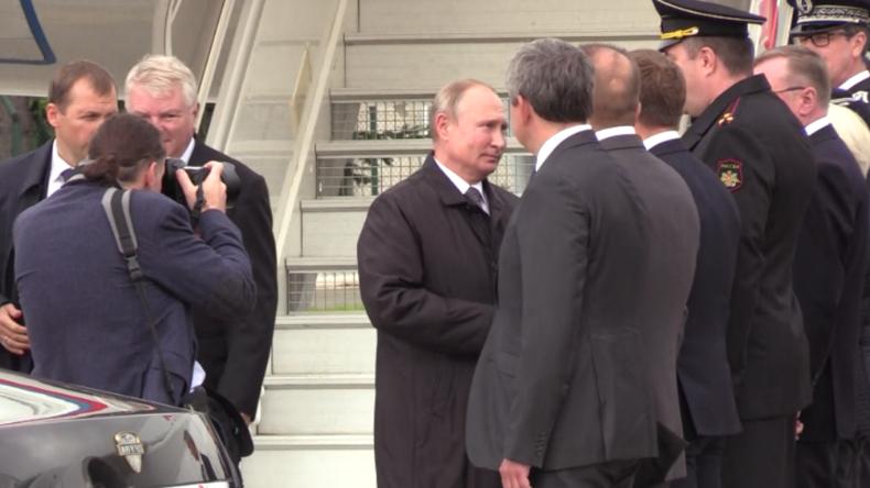 Putin reist nach Paris, um Abschied von Chirac zu nehmen