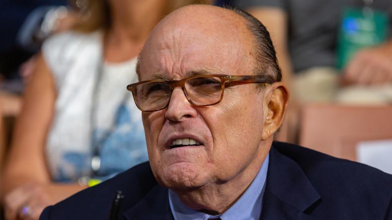 USA: Demokraten wollen Rudy Giuliani zum Schweigen bringen (Video)