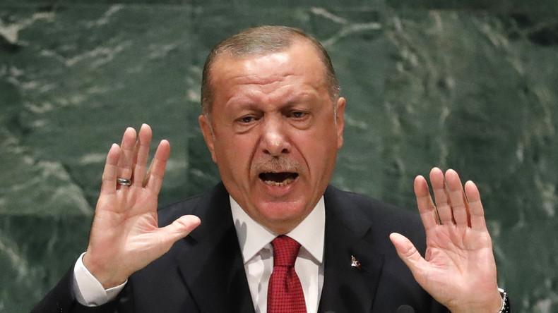 """Nicht an einem Tisch mit Ägyptens """"Tyrann"""" – Erdoğan setzt sich bei UN-Dinner um"""