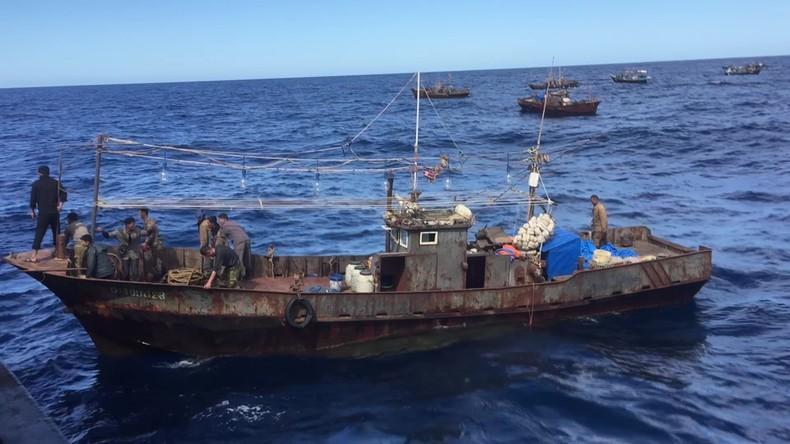 Russland: Innerhalb von zwei Tagen 87 nordkoreanische Wilderer im Japanischen Meer festgenommen