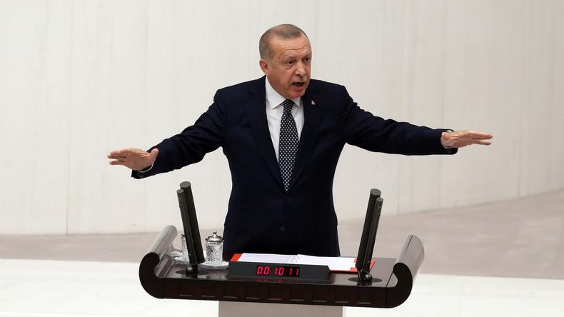 Erdoğan: Zwei Millionen Flüchtlinge sollen in die nordsyrische Sicherheitszone umgesiedelt werden