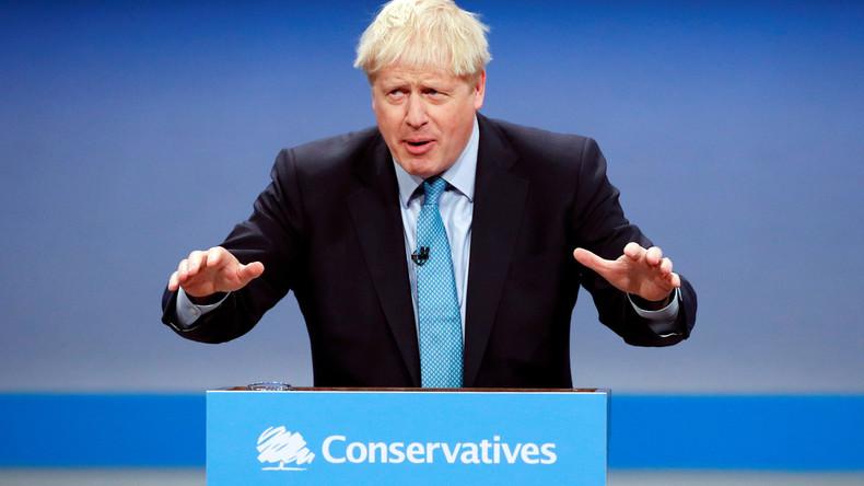 LIVE: Boris Johnson stellt letzten Brexit-Plan auf dem Tory-Parteitag vor