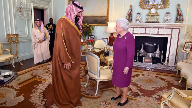 Ausmaß des britischen Programms für saudische Nationalgarde aufgeflogen