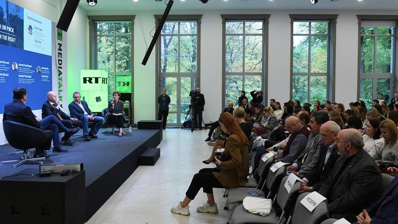 RT veranstaltet Konferenz zur Rolle der Medien bei internationalen Konflikten