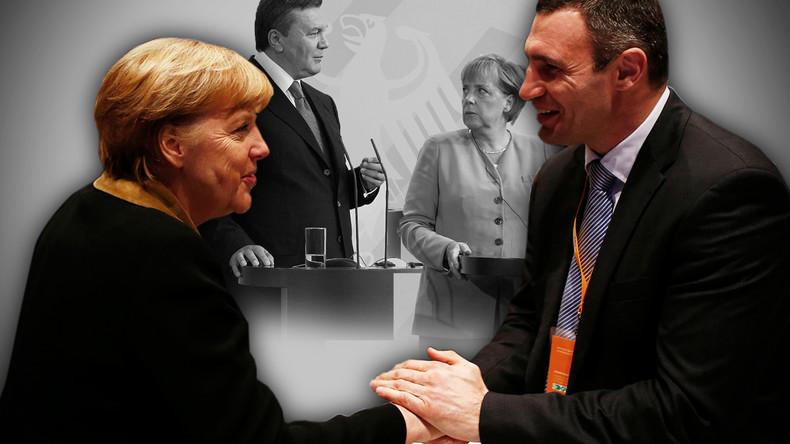 """""""Großes Spiel gegen Putin"""": Wie Merkel, CDU und EVP den Regime-Change in der Ukraine vorbereiteten"""