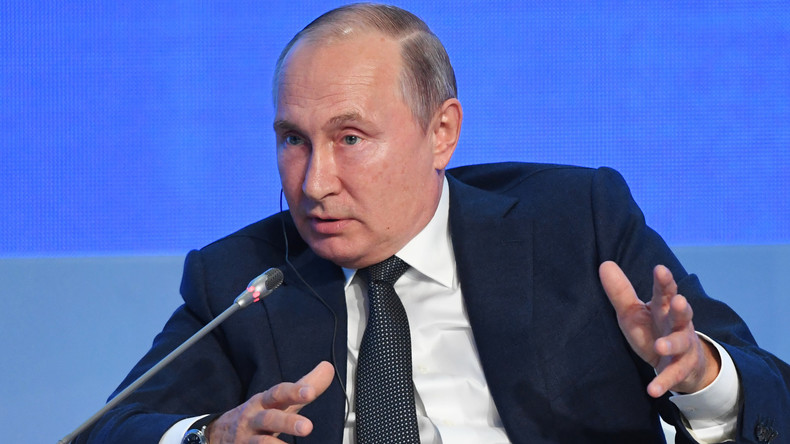 Greta Thunberg: Russlands Präsident Putin kritisiert Klimaaktivistin