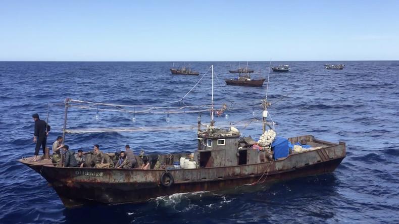 Russland: 64 nordkoreanische Fischer in russischen Hoheitsgewässern festgenommen