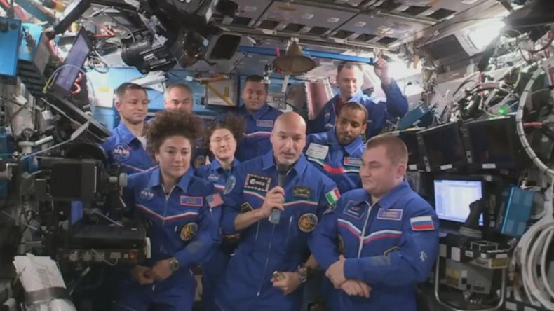 ISS: Drei Astronauten verabschieden sich von der Raumstation