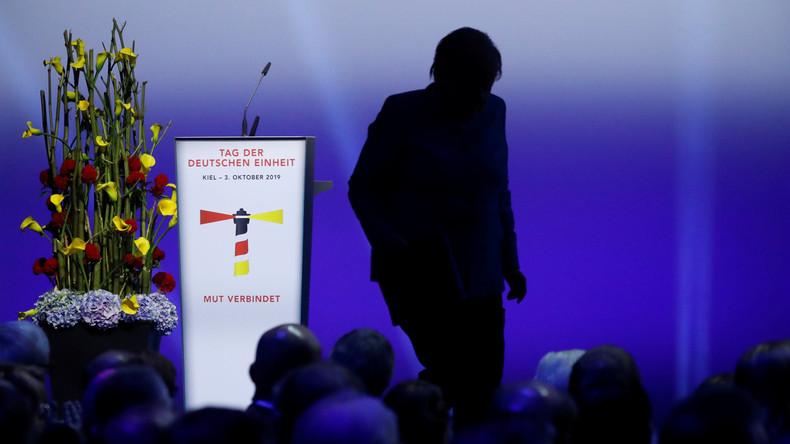 """Selbst ist der Bürger: Merkels bizarre Rede zum """"Tag der Deutschen Einheit"""""""