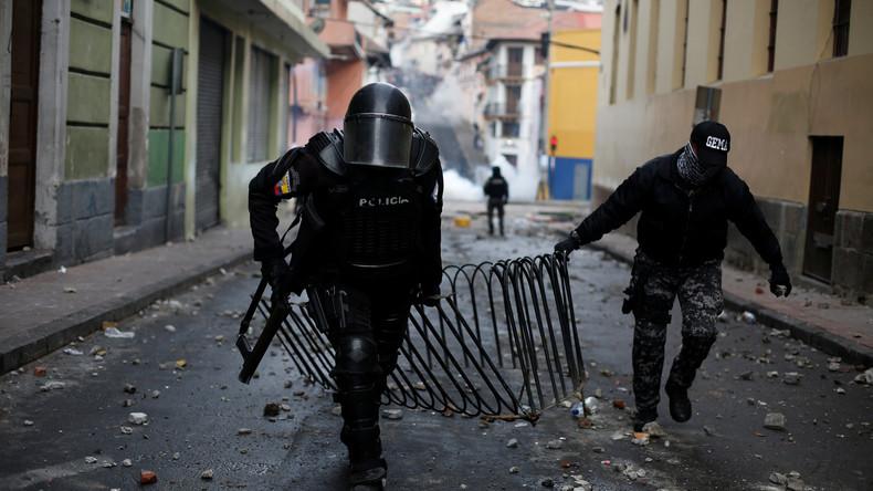 Protest gegen Preiserhöhungen: Ecuadors Präsident ruft Ausnahmezustand aus