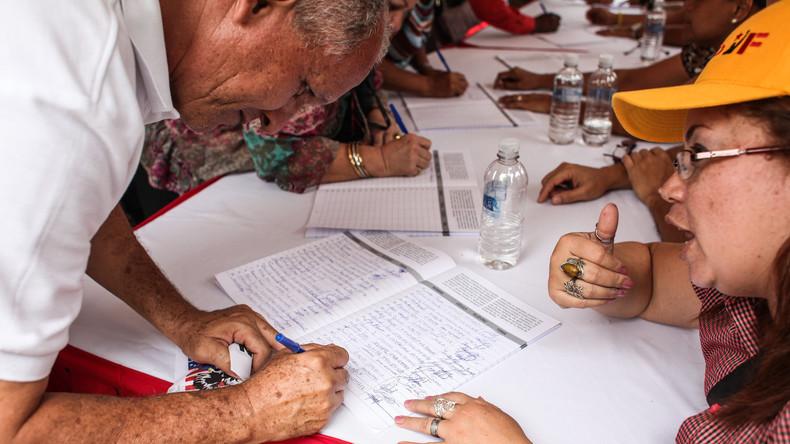Venezuela übergibt UN-Generalsekretär 13 Millionen Unterschriften gegen US-Sanktionen und Krieg