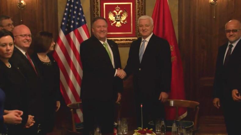 Montenegro: Pompeo kündigt bisher größtes Rüstungsgeschäft zwischen den USA und Montenegro an