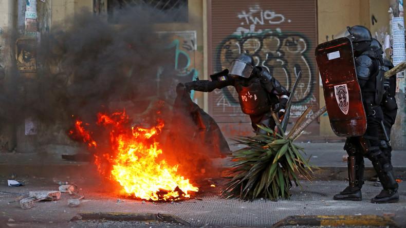 Über 350 Festnahmen bei Transportstreik in Ecuador
