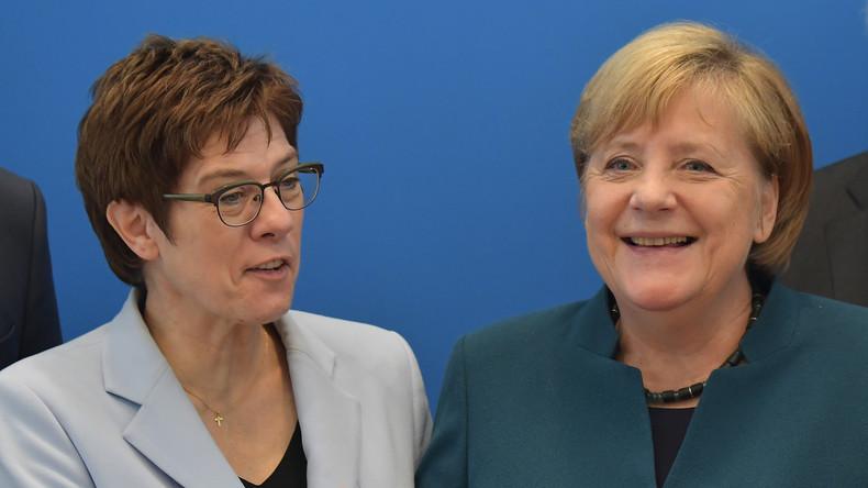 Umfrage: Mehrheit hält Kramp-Karrenbauer als Kanzlerin für ungeeignet