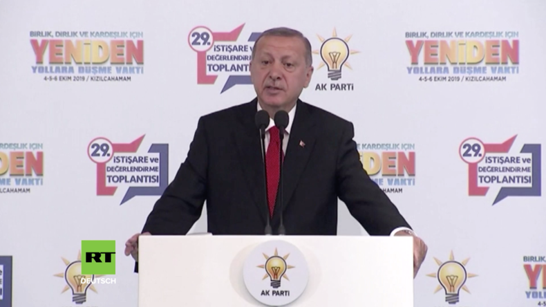 """Türkei: Erdoğan kündigt """"Luft- und Bodeneinsatz"""" in Syrien an"""