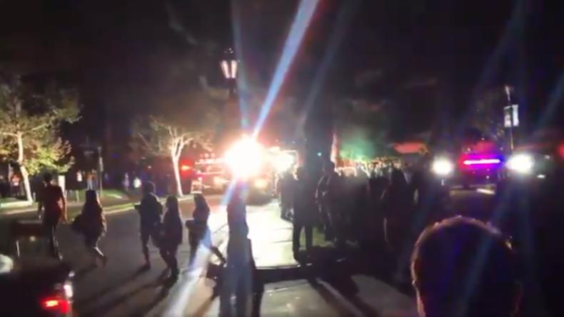 Kalifornien: Zivilisten und Feuerwehrleute durch Explosionen auf Oktoberfest verletzt