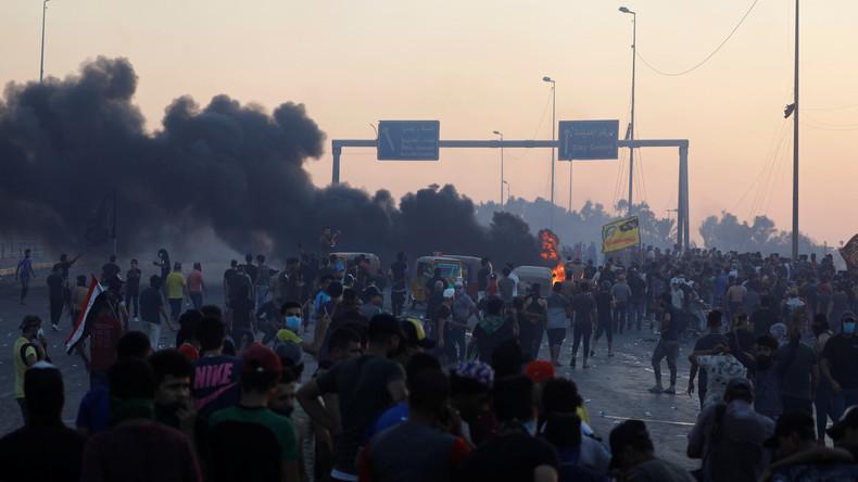 Proteste im Irak: Rund 100 Tote und Ruf nach Regierungsrücktritt