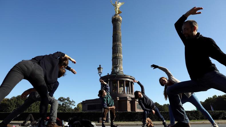 """Für den """"Klimaschutz"""": """"Extinction Rebellion"""" will Berlin lahmlegen"""