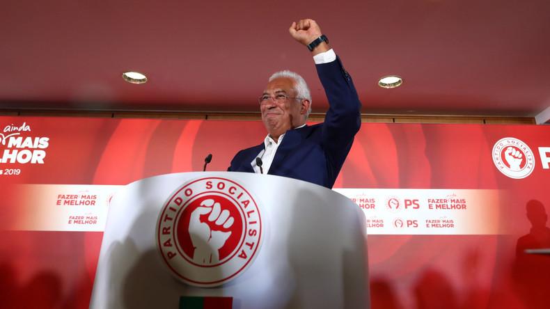 Wahlsieg der Sozialisten in Portugal – António Costa könnte mit Linksbündnis weiterregieren